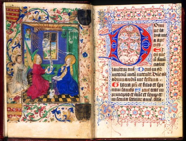 1460 ca Utrecht canon Jacobus Johannes IJsbrandus unknown illuminist Utrecht University Library (Hs. 15.C.5)