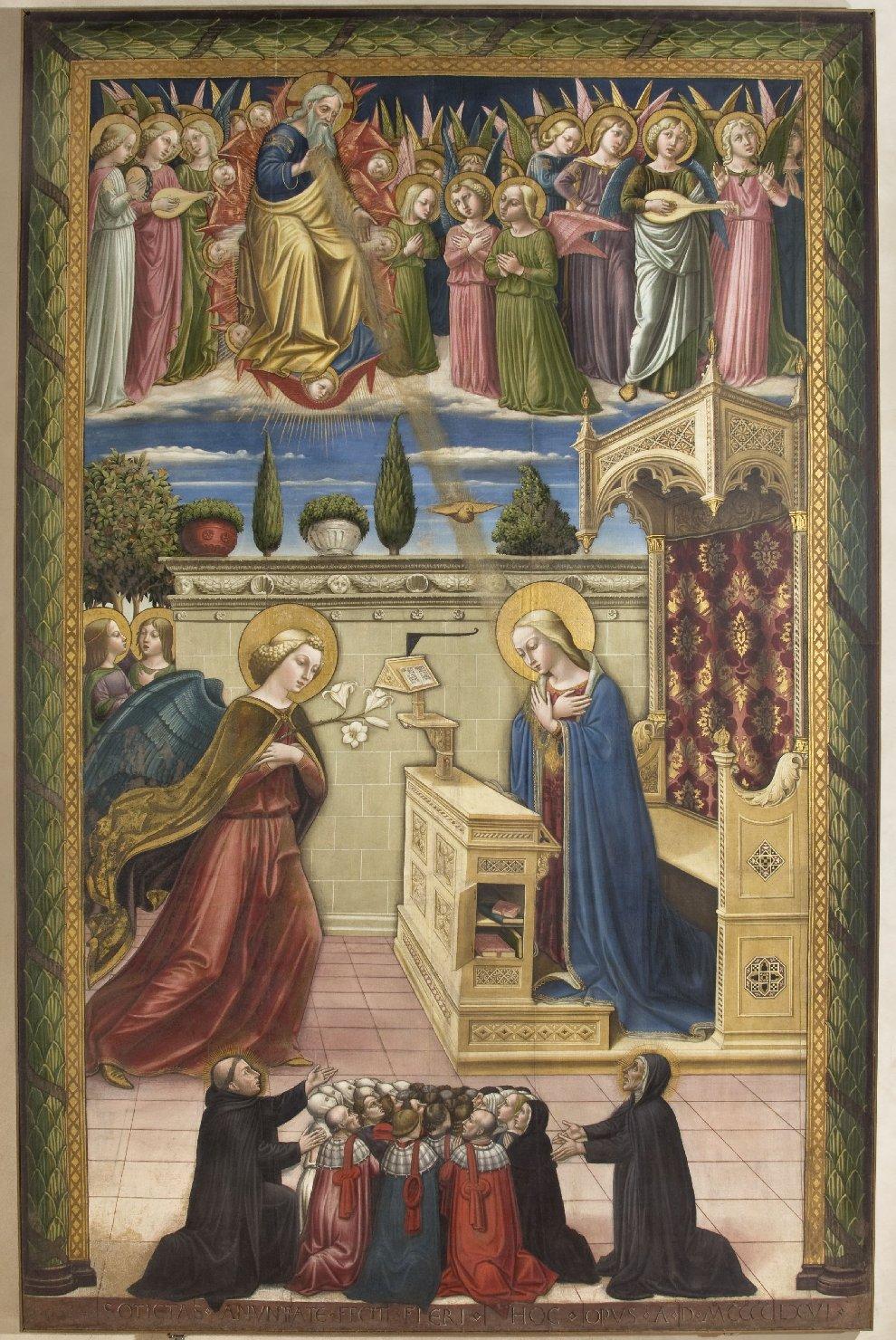 1466 Niccole di Liberatore Galerie nationale de l'Ombrie Perouse,