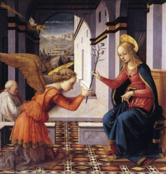 1466 ca Fra Filippo Lippi Corsham Court, Wiltshire, Methuen Collection