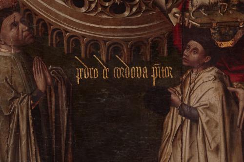 1475 Anunciacion_Pedro de cordoba Catedra Cordoba detail