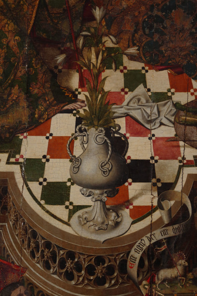 1475 Anunciacion_Pedro de cordoba Catedra Cordoba detail vase
