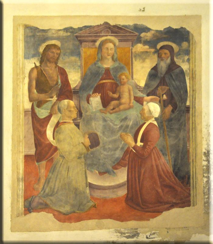 1485 bevilacqua Giovanni Battista, S. Antonio Chiesa San Vittore, Landriano
