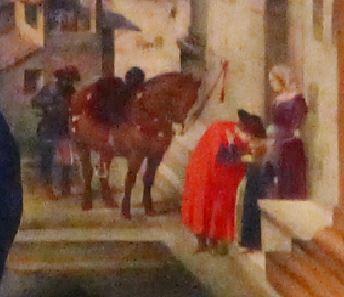 1490-93 Pala Nervi Filippino_Lippi Basilique Santo_Spirito detail