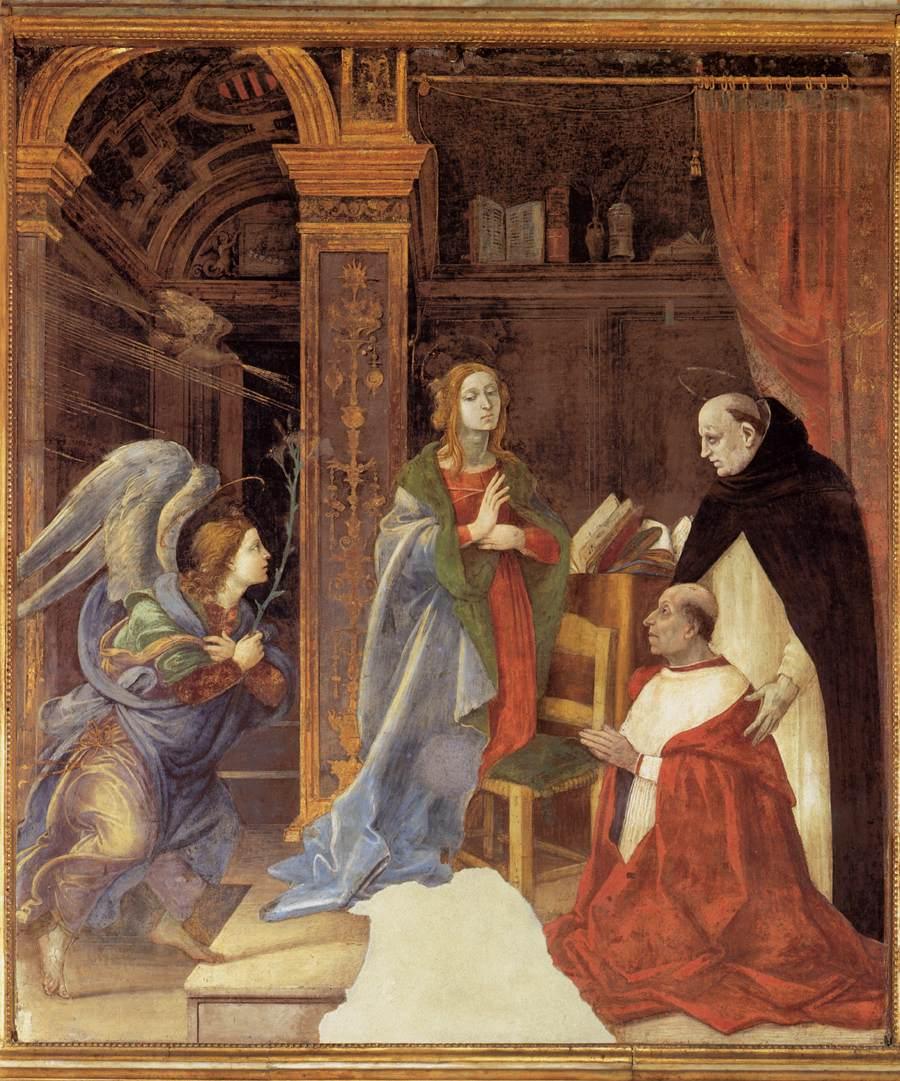1493 filippino-lippi Carafa Chapel Santa Maria sopra Minerva