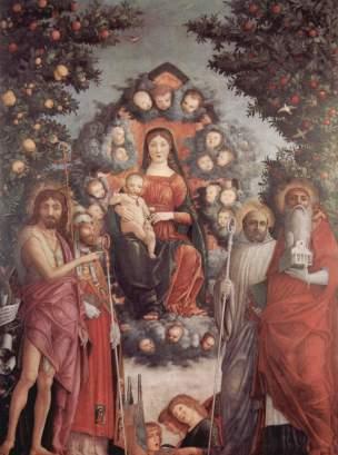 1497, Andrea Mantegna Madonna Trivulzio Castello Sforzesco, Milan