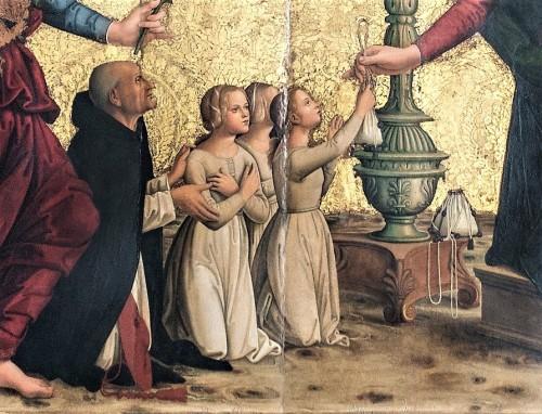 1499 Antoniazzo Romano S. Maria sopra Minerva Rome detail