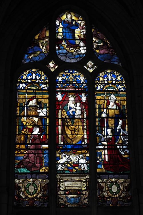 1500 Verriere d'Arnoult de Nimegue Eglise de Conches-en-Ouche