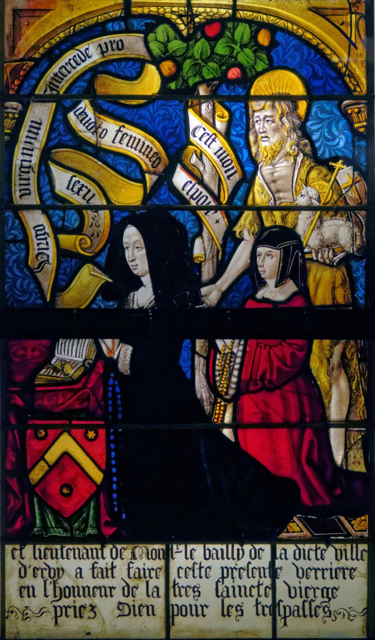 1502 Les Triomphes de Petrarque, eglise Saint-Pierre-Es-Liens, Ervy-le-Chatel donatrice Jehanne Le Clerc