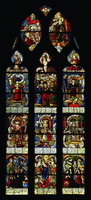 1502 Les Triomphes de Petrarque, eglise Saint-Pierre-Es-Liens, Ervy-le-Chatel