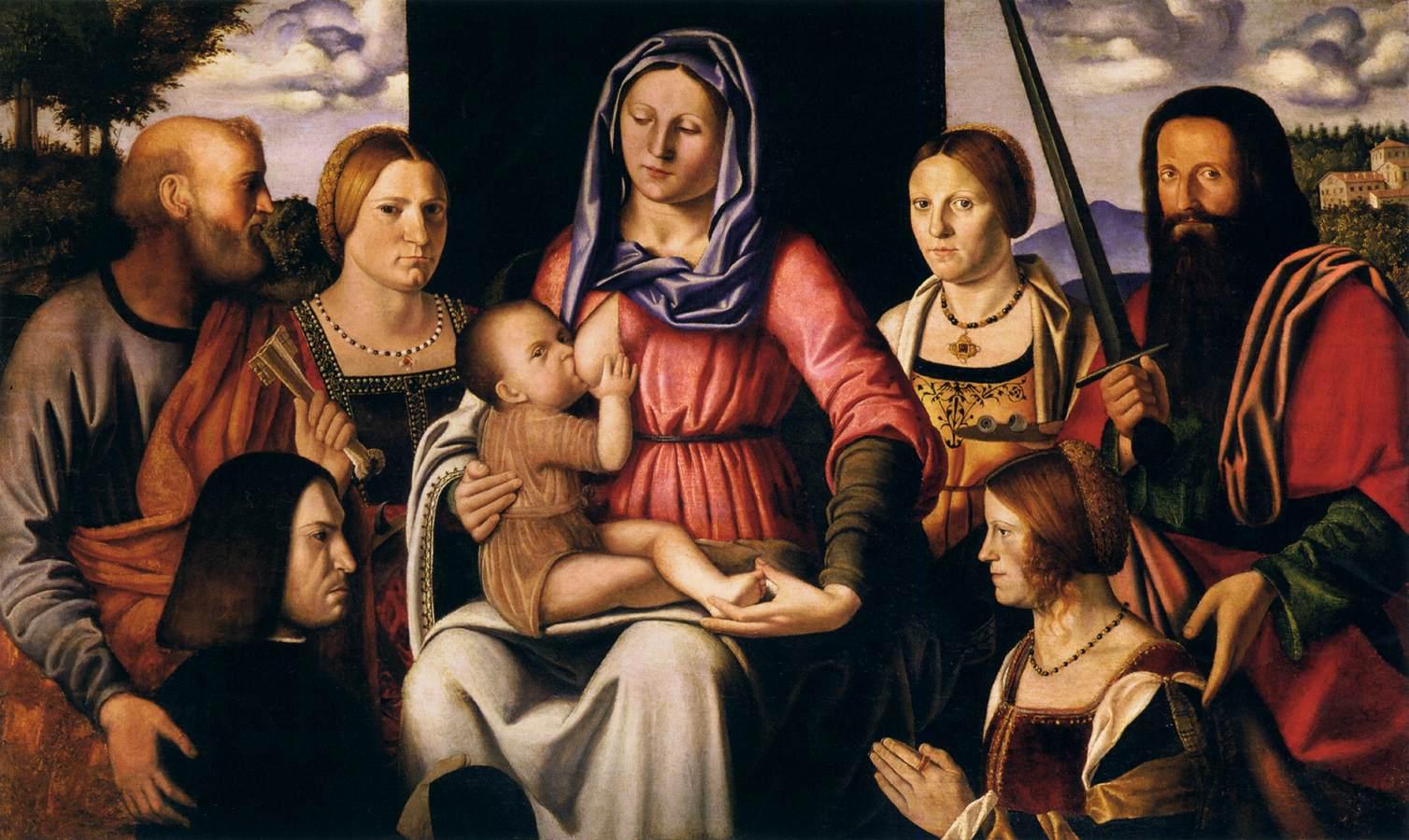 1507 Bernardio Luini Musei Civici Agli Eremitani Padoue