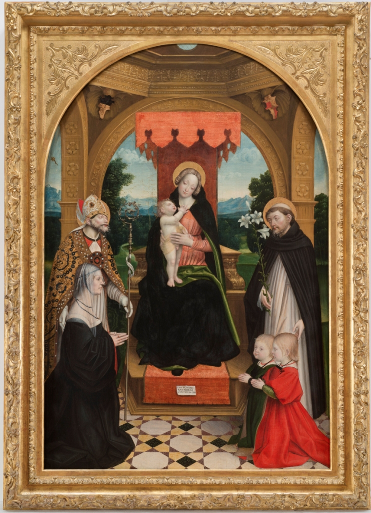 1514 Gerolamo_giovenone Pala_buronzo, Galerie Sabauda Turin
