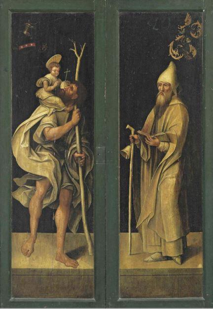 1522 Jacob van Utrecht St.-Annen-Museum Lubeck revers