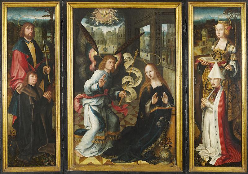 1522 Jacob van Utrecht St.-Annen-Museum Lubeck