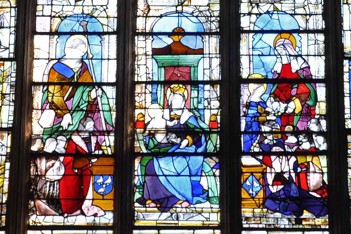 1523 Jacques Malon et Anne Robert, seigneur et dame de Bercy Eglise ste Marie madeleine Vendome