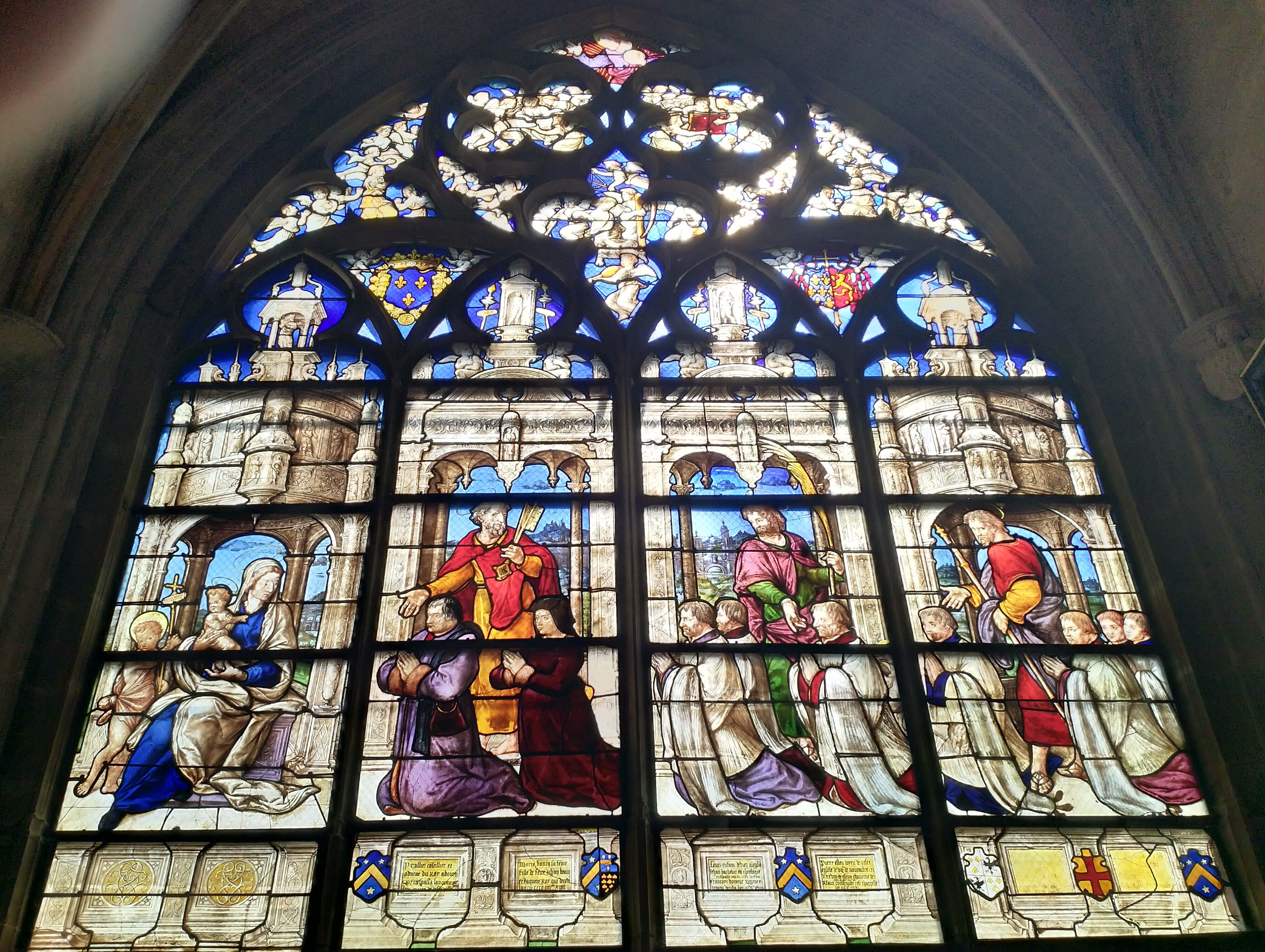1532 La famille Tuilier Bourges_-_cathedrale