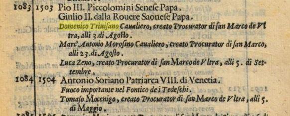 1581 Jacomo Sansovino, Venetia ... descritta in 14 libri (et cronico particolare delle cose fatte da i Veneti, dal principio della citta fino all'anno 1581