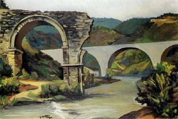 1951 GUTTUSO Renato Ponte di Narni