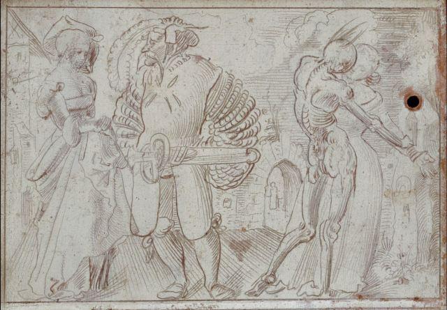 Niklaus Manuel, dit Deutsch 1517 Image sur le theme de l'Amour musee des BA Bale