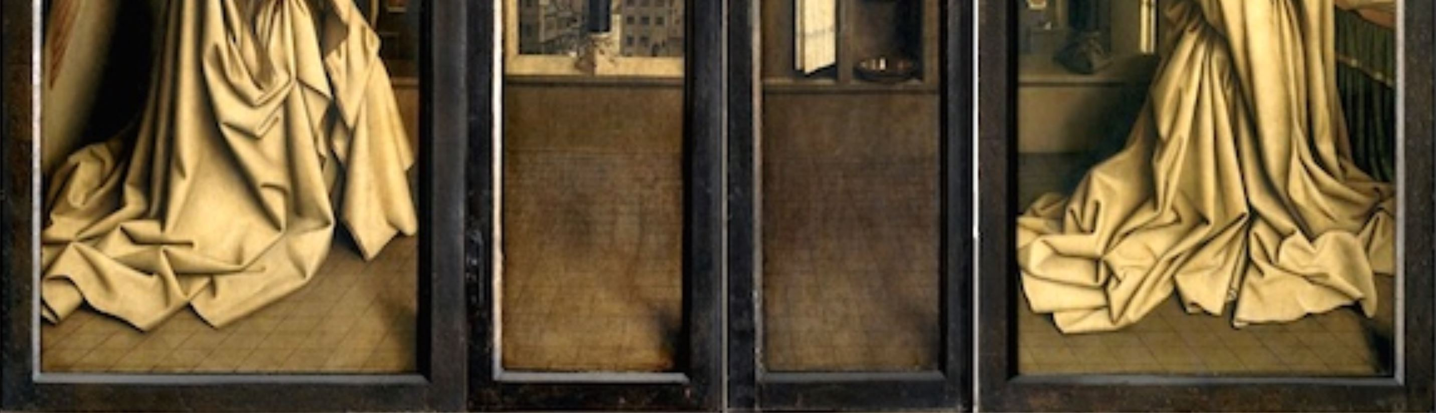 1432 Van Eyck Retable de Gand revers detail