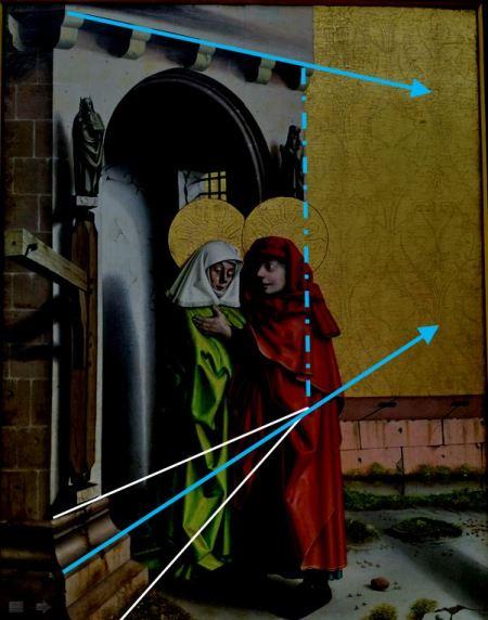 1437-40 Konrd Witz Porte doree Musee des BA Bale Porte impossible