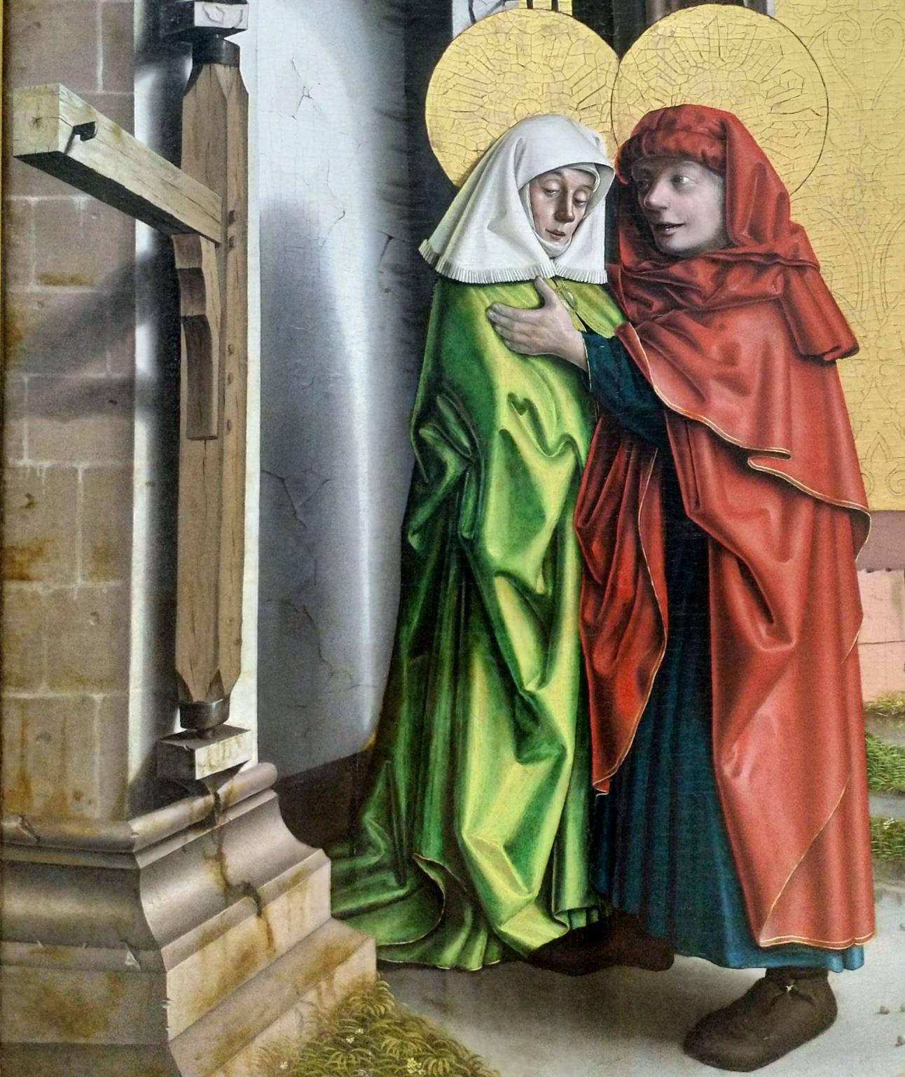 1437-40 Konrd Witz Porte doree Musee des BA Bale barre
