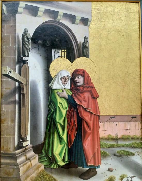 1437-40 Konrd Witz Porte doree Musee des BA Bale