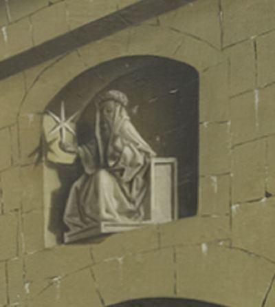 1444 Konrad Witz Delivrance de Saint Pierre Musee des BA Geneve detail Balaam