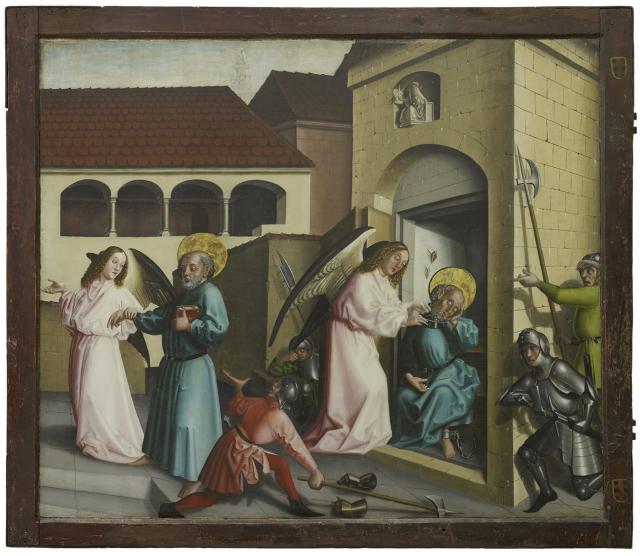 1444 Konrad Witz Delivrance de Saint Pierre Musee des BA Geneve