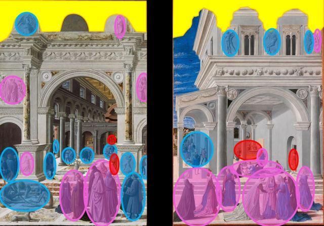 Fra Carnevale 1467 diptyque schema2