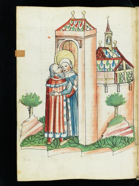 Historienbibel, Soleure, Zentralbibliothek, Cod. S II 43, fol.319v