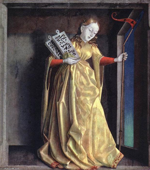 Konrad-Witz 1435 La synagogue Retable du Miroir du Salut Musee des BA de Bale