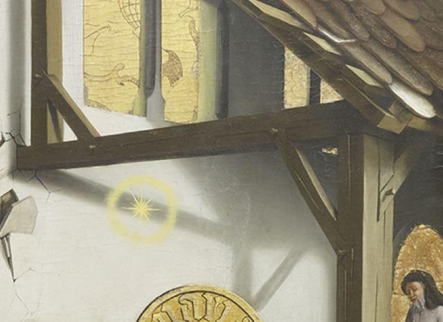 Konrad Witz Adoration des Mages Musee des BA Geneve ombre etoile