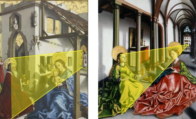 Konrad Witz Comparaison, Adoration des Mages Ste Marie Madeleine