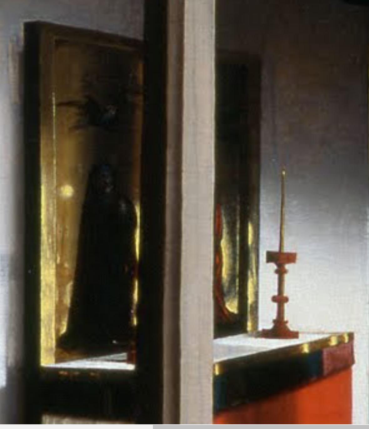 Konrad_Witz_Se Marie Madeleine et Ste Catherine Musee Oeuvre Strasbourg autel