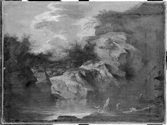 Rosa 1636-38 Paysage marin Musee Conde Chantilly