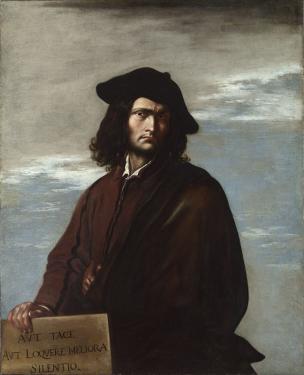 Rosa 1641 Portrait de philosophe Autoportrait National Gallery Londres