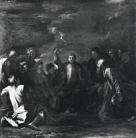 Rosa 1660-62 Christ preche aux multitudes coll priv