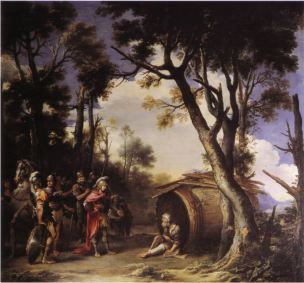 Rosa 1661-64 Alexandre et Diogene Althorp House