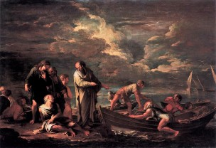 Rosa 1662 Pythagoras and the Fisherman Gemaldegalerie - Staatliche Museen zu Berlin