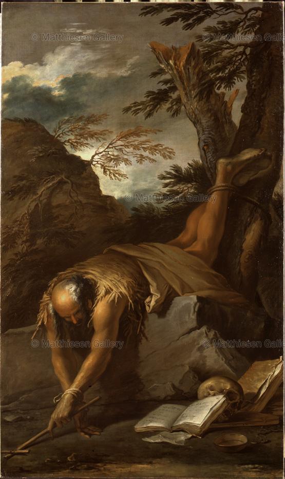 Rosa 1665-70 saint-paul-ermite Matthiesen Gallery