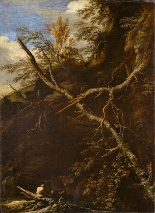 Rosa-1665-ca-Paysage-desole-avec-deux-personnages-National-Gallery-Scotland-Edimbourg