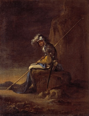Salvator Rosa, A Soldier, 1655, oil on canvas, Musei Capitolini, Pinacoteca Capitalina, Rome
