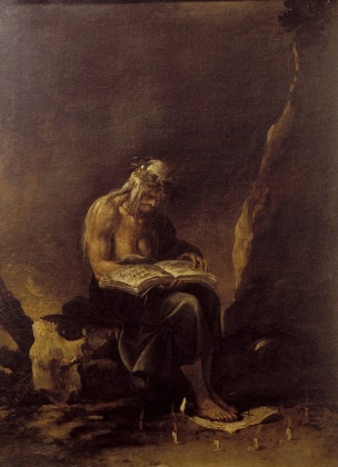 Salvator Rosa, A Witch, 1655, oil on canvas, Musei Capitolini, Pinacoteca Capitalina