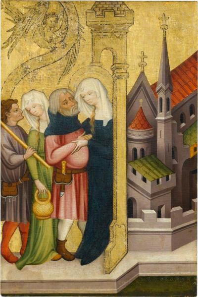 Ulmer Meister um 1400 Staatsgalerie Stuttgart