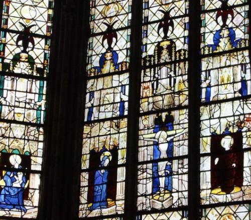 015 1360-1370 baie 15 chapelle du Rosaire chanoine Cathedrale Evreux Laviebaile