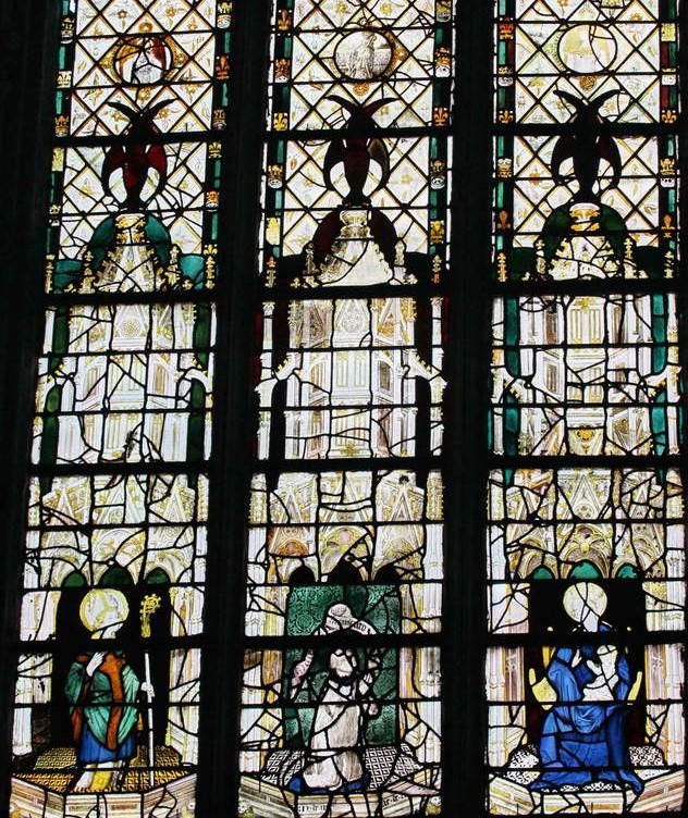 017 1360-1370 baie 17 chapelle du Rosaire chanoine Cathedrale Evreux Laviebaile