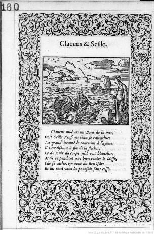 1557 Illustrations_de_La_Metamorphose_d'Ovide Figuree Bernard Salomon p 160 Gallica