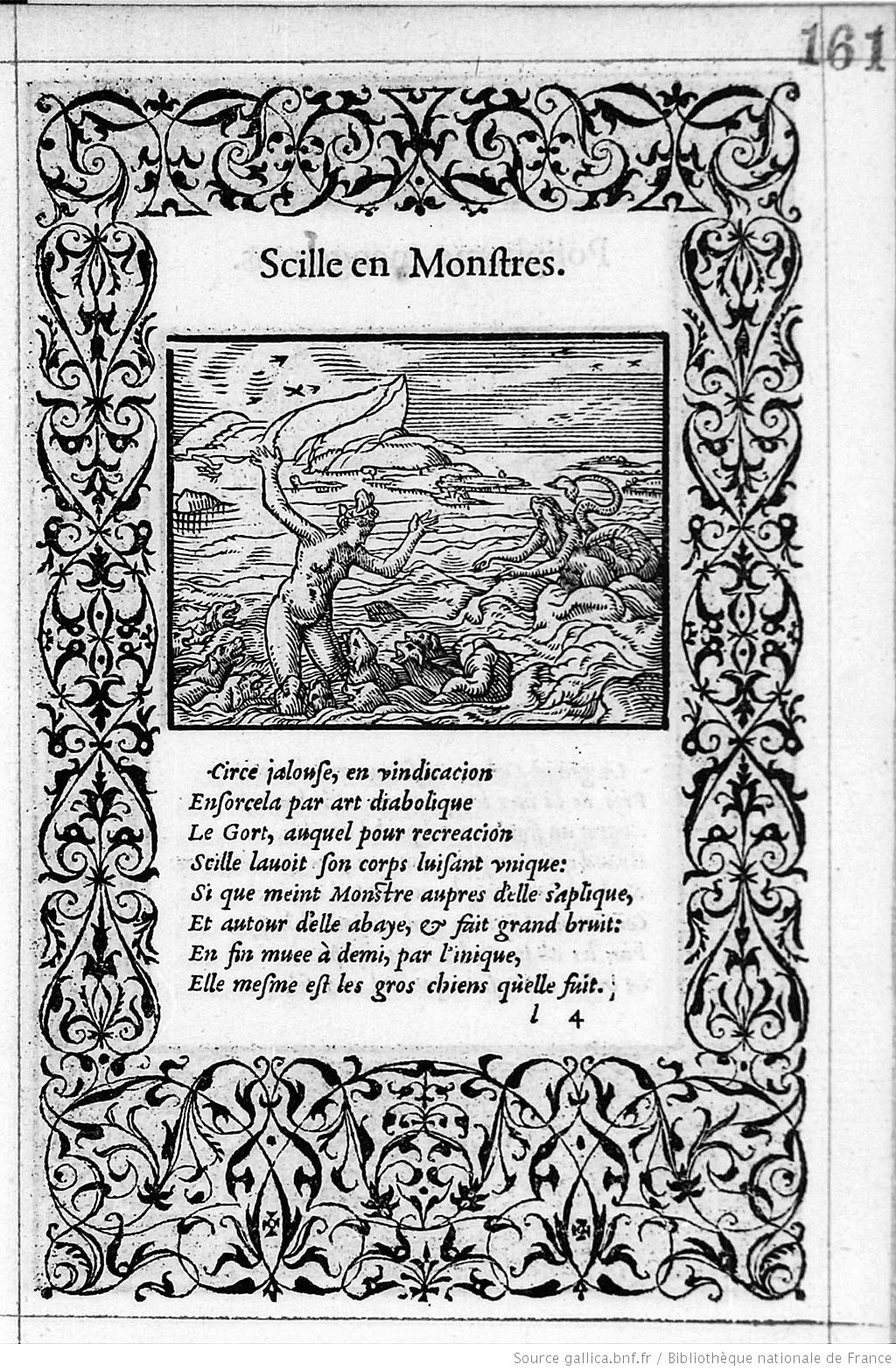 1557 Illustrations_de_La_Metamorphose_d'Ovide Figuree Bernard Salomon p 161 Gallica