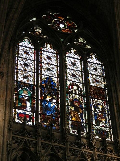 211 1320 avant Blanche d'Avaugour Ste Catherine, Guillaume d'Harcourt _Evreux Baie_211