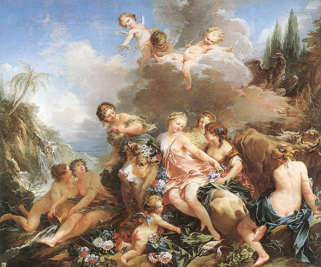 Boucher 1732-34 The_Rape_of_Europa Wallace Collection WGA02897